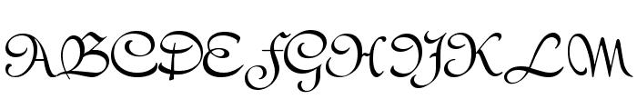 Civitype FG Font UPPERCASE