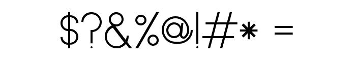 circles and sticks Regular Font OTHER CHARS