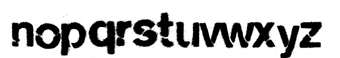 cityburn Font LOWERCASE