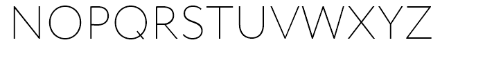 Circe Extra Light Font UPPERCASE