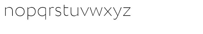 Circe Extra Light Font LOWERCASE
