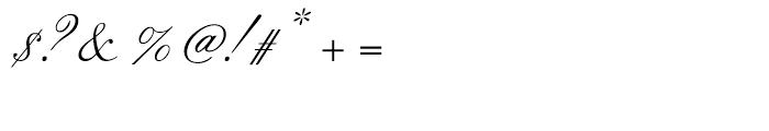 Citadel Script Regular Font OTHER CHARS
