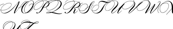 Citadel Script Regular Font UPPERCASE