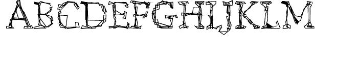 Citore Regular Font UPPERCASE