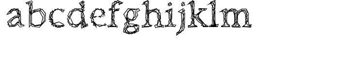 Citore Regular Font LOWERCASE