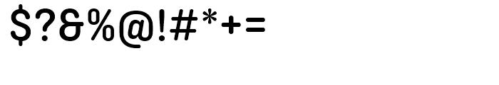 Ciutadella Rounded Medium Font OTHER CHARS
