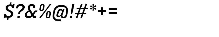 Ciutadella Slab Medium Italic Font OTHER CHARS