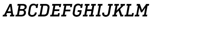 Ciutadella Slab Medium Italic Font UPPERCASE