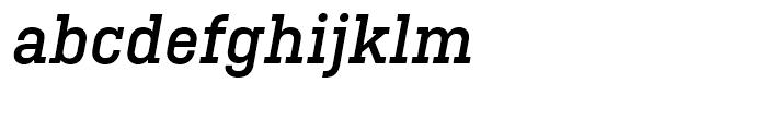 Ciutadella Slab Medium Italic Font LOWERCASE