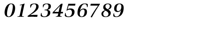 Civita Medium Italic Font OTHER CHARS