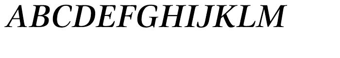 Civita Medium Italic Font UPPERCASE