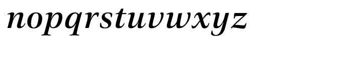 Civita Medium Italic Font LOWERCASE