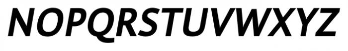 Cielo Bold Italic Font UPPERCASE