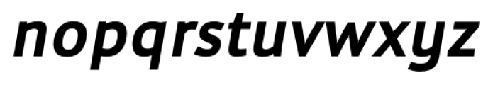 Cielo Bold Italic Font LOWERCASE