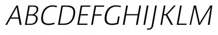 Cielo Light Italic Font UPPERCASE