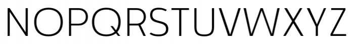 Cillian Semi-expanded Light Font UPPERCASE
