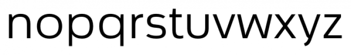 Cillian Semi-expanded Regular Font LOWERCASE