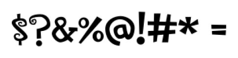 CircusDog Regular Font OTHER CHARS