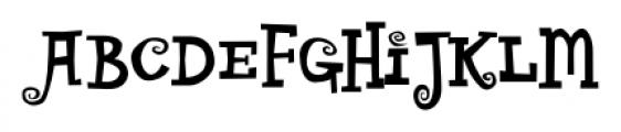 CircusDog Regular Font UPPERCASE