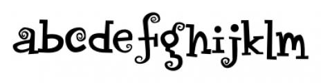 CircusDog Regular Font LOWERCASE