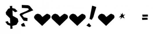 Ciseaux Matisse Cut-Out-Linear Font OTHER CHARS