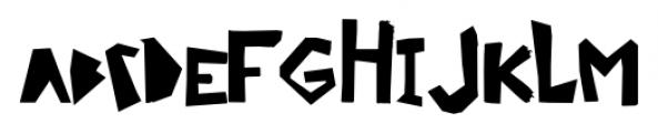 Ciseaux Matisse Cut-Out-Linear Font LOWERCASE