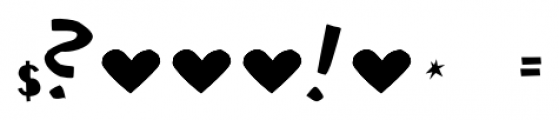 Ciseaux Matisse Cut-Out Font OTHER CHARS