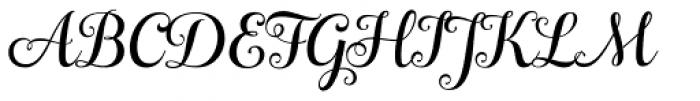 Ciao Bella Regular Font UPPERCASE