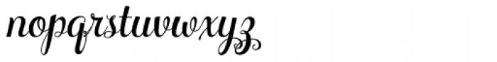 Ciao Bella Regular Font LOWERCASE
