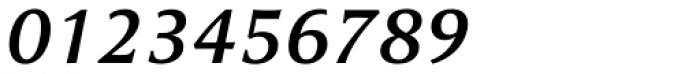 Cicero Medium Italic Font OTHER CHARS