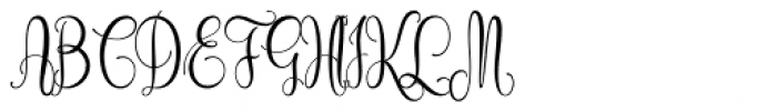 Cidrella Regular Font UPPERCASE
