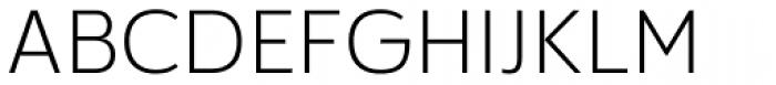 Cillian Semi Expanded Light Font UPPERCASE