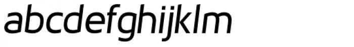Cillop Medium Italic Font LOWERCASE