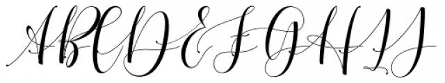 Cimberleigh Regular Font UPPERCASE