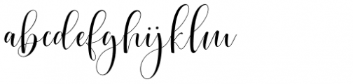 Cimberleigh Regular Font LOWERCASE