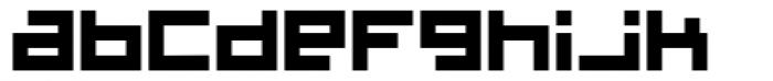 Cinderblock Font LOWERCASE