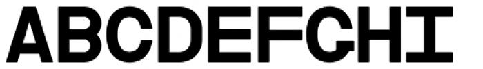 Cindie Mono B Font UPPERCASE