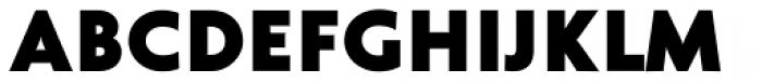 Cinio Heavy Font UPPERCASE