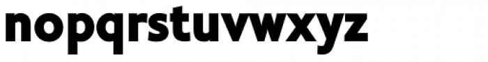 Cinio Heavy Font LOWERCASE