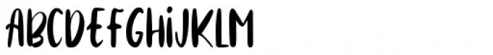 Cinnamon Cookie Regular Font UPPERCASE