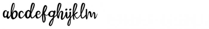 Cinnamon Cookie Regular Font LOWERCASE