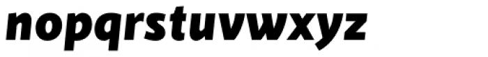 Cinta Black Italic Font LOWERCASE