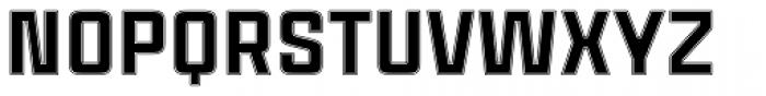Cintra Inline Font UPPERCASE