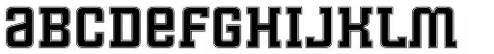 Cintra Slab Inline Unicase Font LOWERCASE