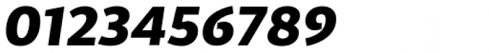 Cira Sans Black Italic Font OTHER CHARS