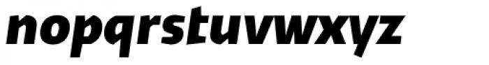 Cira Sans Black Italic Font LOWERCASE