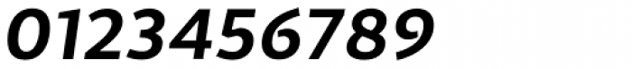 Cira Sans Bold Italic Font OTHER CHARS