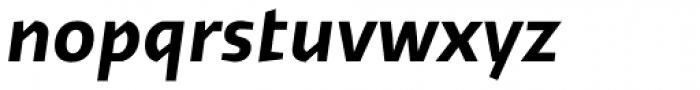 Cira Sans Bold Italic Font LOWERCASE