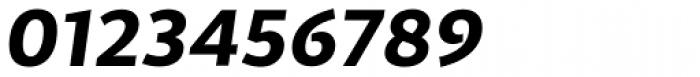 Cira Sans Extra Bold Italic Font OTHER CHARS