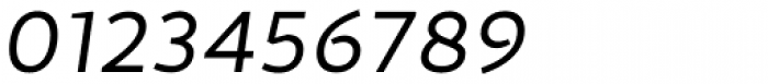 Cira Sans Italic Font OTHER CHARS